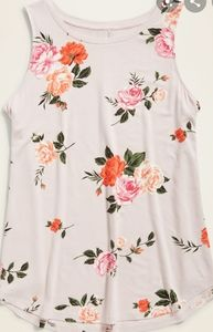 Luxe Rose Print Top